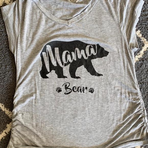 c49859d7427f2 french pastry Tops | Mama Bear Maternity Shirt | Poshmark